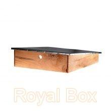 051-Едноскатен покрив със стреха